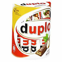 Kinder DUPLO -Chocolate hazelnut sticks -1 box- 10 bars -