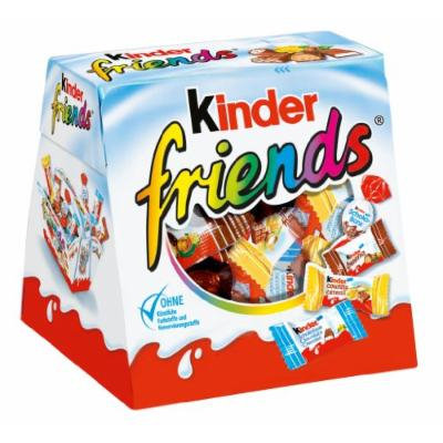 Kinder Friends -Chocolate box mix -34 assorted chocolates -1 box-