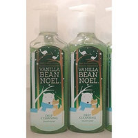 Bath & Body Works Bath and Body Works Holiday Tradions (Lot of 2) Vanilla Bean Noel Deep Cleansing Hand Soaps (8 oz. each bottle)