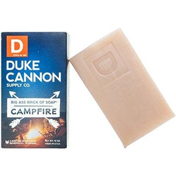 Duke Cannon Great American Frontier Men's Big Brick of Soap - Campfire, 10oz,Black,1 Bar [Campfire]