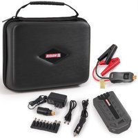 BISON© Premium Portable Power Bank and Car Jump Starter with Carrying Case - 16,000mAh, Peak 800A
