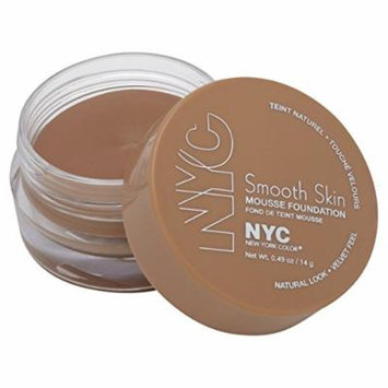 NYC Smooth Skin Mousse Foundation 14g-702 Natural Rose