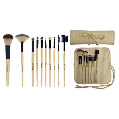 FantaSea Professional Bamboo Cosmetic Brush Set, 0.19 Ounce