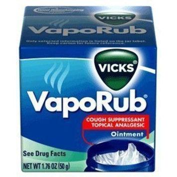 Vicks VapoRub Topical Ointment Chest Rub 1.76oz - (2 PACK)