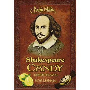 Archie McPhee Shakespeare Candy Book
