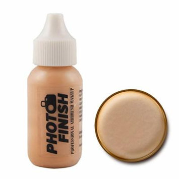 Photo Finish Professional Airbrush Foundation Makeup-1.0 Oz Cosmetic Face- Choose Color (Fairly Medium -Luminous)