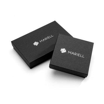 Mariell Crystal & Genuine Freshwater Pearl Wedding Hair Comb Silver Headpiece Bridal Hair Accessory