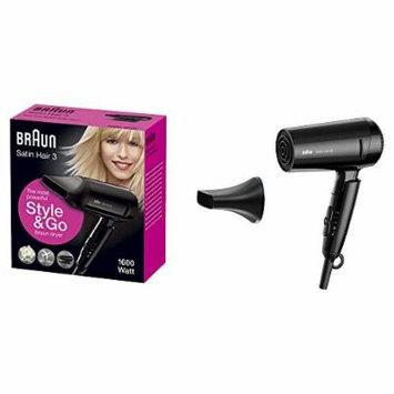 BRAUN HD350 Multi-voltage Travel hair dryer.