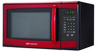 Emerson 0.9 cu. ft. Microwave Oven - Red