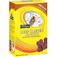 Hampshire Pet Products Ol' Roy Beef Basted Biscuits Dog Treats, 4 lb