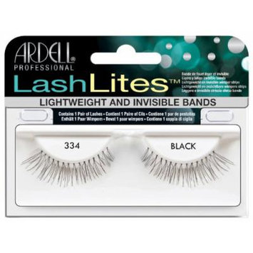 Ardell Lashlites False Eyelashes - #334 Black (Pack of 6)