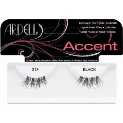 Ardell Duralash Accents False Eyelashes - #318 (Pack of 6)