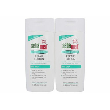 Sebamed Extreme Dry Skin Repair Advance Therapy Lotion with 10% Urea Perfect for Eczema Psoriasis Lotion Rough Dry Skin Moisturizer 6.8 Fluid Ounces (Pack of 2)