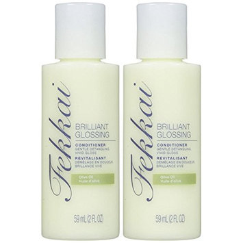 Fekkai Brilliant Glossing Conditioner Trial - 2 oz - 2 pk