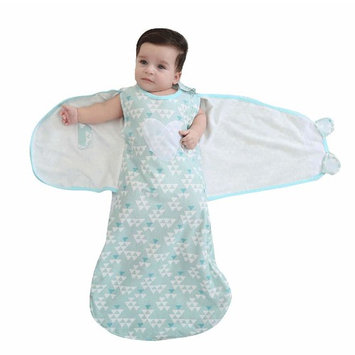 Baby Sleeping Bag Swaddle Sack Wearable Blanket,Cotton,6-12 Months