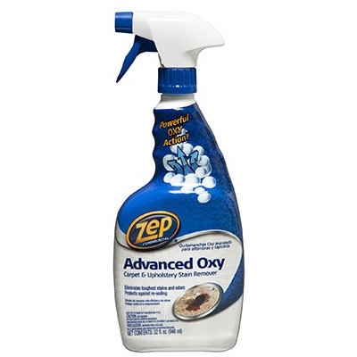 ZEP Cleaning Products 32 oz. Advanced Oxy Carpet and Upholstery Stain Remover (Case of 12) ZUOXSR32