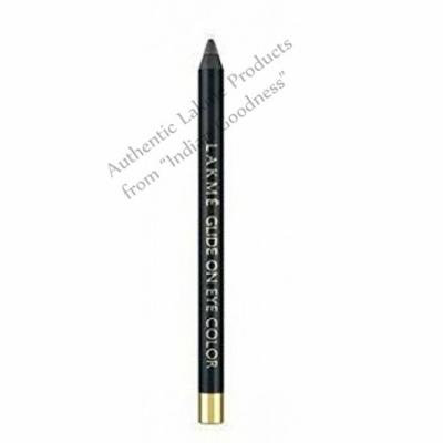 Lakme 9 to 5 Glide on Eye Color 1.2 g (Metallic Black) + Free Gifts + Free Shipping - by Indian Goodness