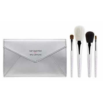 Karl Lagerfeld for Shu Uemura: Shupette With-Love-From-Paris Brush Set