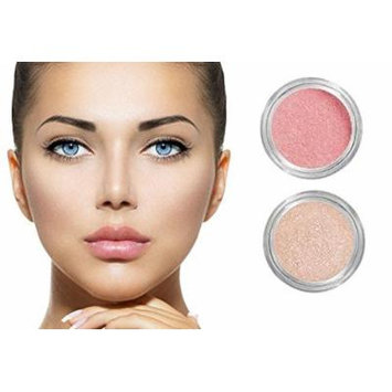 NEW! Grace My Face All Day Radiant Mineral Blush & Glow - Apricot