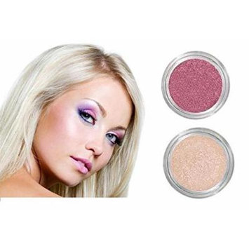 NEW! Grace My Face All Day Radiant Mineral Blush & Glow - Desert Rose