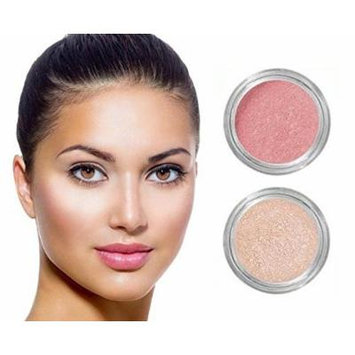 NEW! Grace My Face All Day Radiant Mineral Blush & Glow - Coral