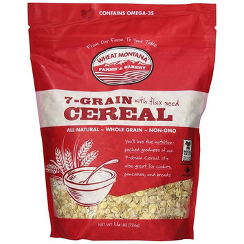 Wheat Montana Cereal, 7 Grain with Flax, 1.6 Pound (Pack of 8)