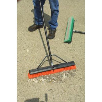 Laitner Brush 24 in. Indoor Smooth Surface Push Broom 258