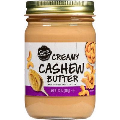 Wal-mart Stores, Inc. Sams Choice Creamy Cashew Butter, 12 oz
