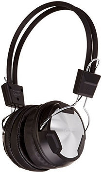 Arctic Cooling ARCTIC P402BT Bluetooth Stereo Over-Ear Headphones, Integrated Mic, A2DP/AVRCP, 30-Hr Playback - Black