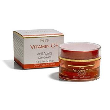 Pure Vitamin C + Anti Aging Day Cream 1.69 fl oz / 50 ml Crema Dia Enriquecida con Minerales del Mar Muerto y Vitamina C