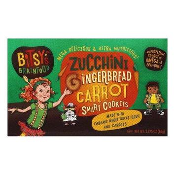 Bitsy's Brainfood Zucchini Carrot Gingerbread Smart Snacks