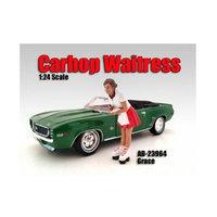 American Diorama 23964 Carhop Waitress Grace Figure for 1-24 Scale Models