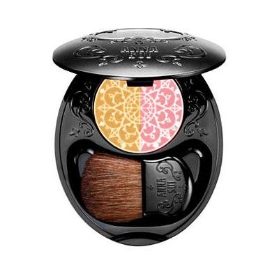 Anna Sui Double Cheek Duo Color - Pinkish Yellow No. 03