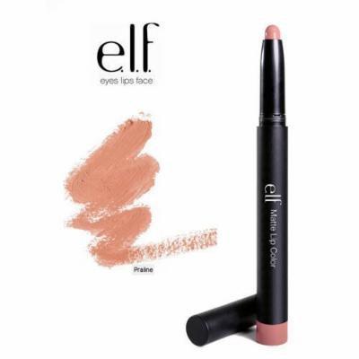 2 Pack e.l.f. Cosmetics Studio Matte Lip Color 82464 Praline