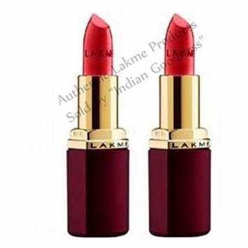 Lakme Enrich Satin Lip Color (Pack of 2) 8.8 ml (422) + Free Gifts +