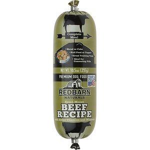 Redbarn Naturals Beef Recipe Dog Food Roll, 10.5-oz roll