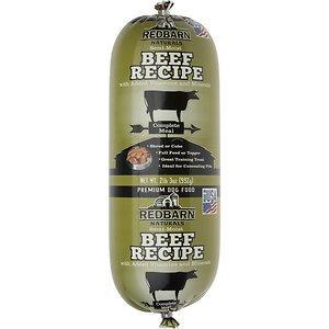 Redbarn Naturals Beef Recipe Dog Food Roll, 2-lb 3-oz roll
