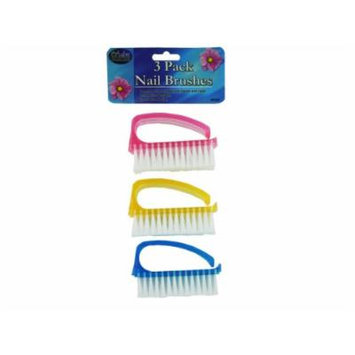 Bulk Buys BE009-24 Nail Brush Set by Salon Collections - Pack of 24