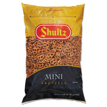 Shultz 827575 Mini Pretzels Original 6-lb Bag