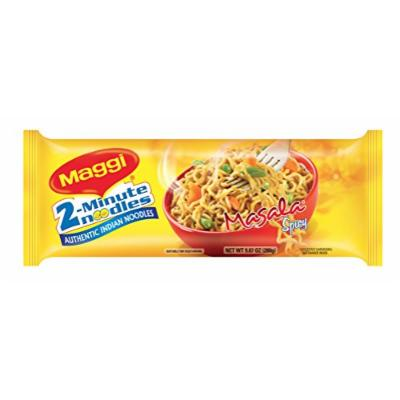 Maggi Masala 2-Minute Noodles India Snack - 6 Pack