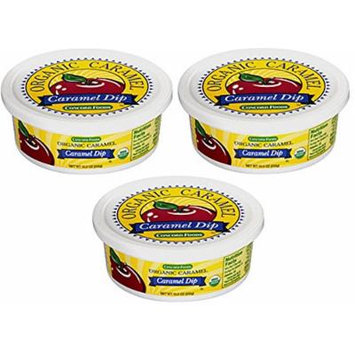 Organic Caramel Dip - 3 Tubs, 10.5 Oz Each