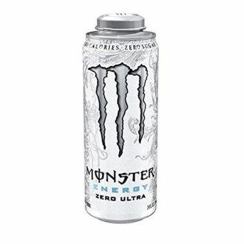 8 Pack - Monster Energy - Zero Ultra - 24oz.