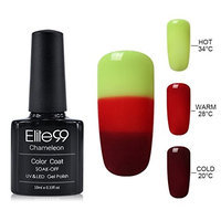 Elite99 10ML UV LED Thermal Temperature Color Changing Gel Nail Polish Soak Off Nail Lacquer 4213 []