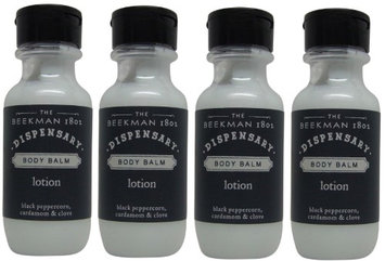 Beekman 1802 Dispensary Body Balm Lotion Lot of 4 Each 1oz Bottles. oz (Pack of 4)
