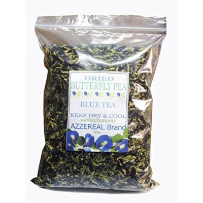 Organic Dried Butterfly Pea Herbal Tea Net 500 G. Handmade in Thailand