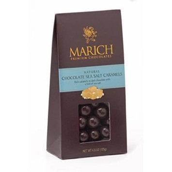 Marich Gable Caramel Sea Salt Dark Chocolate 4.5oz (6-pack)