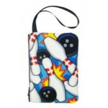 Bowling Pattern Cosmetic/cell Phone Bag