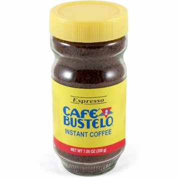 Bustelo 7 Ounce Instant Espresso Coffee Jar, Pack of 2