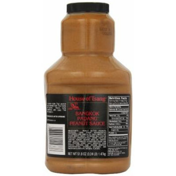 House of Tsang Sauce, Bangkok Peanut sauce, 51.8 oz (pack of 4)
