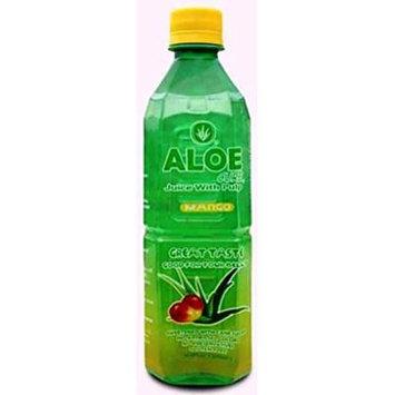 AloeCure aloe juice with pulp orginal green grape 16.9 oz (AloeCure aloe juice with pulp Mango 16.9 oz)